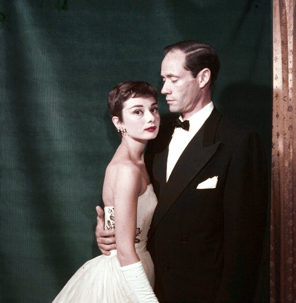 Audrey e Mel Ferrer