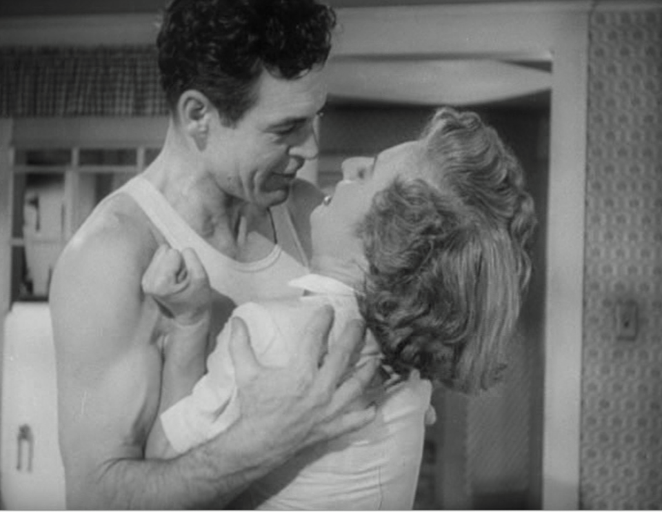 Robert Ryan e Barbara Stanwyck