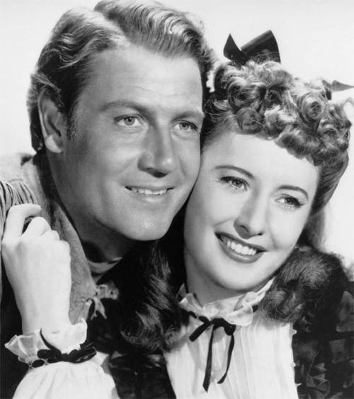 Joel McCrea e Barbara Stanwyck