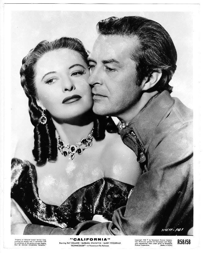Ray Milland e Barbara Stanwyck
