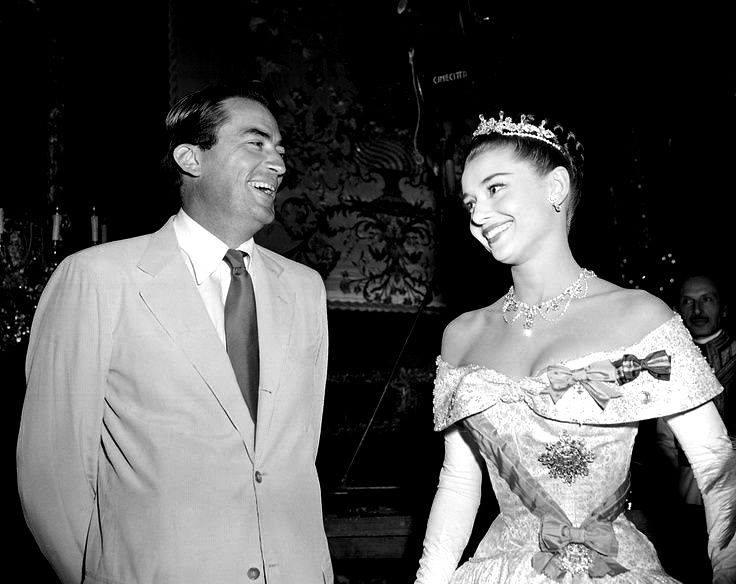 Gregory Peck and Audrey Hepburn!