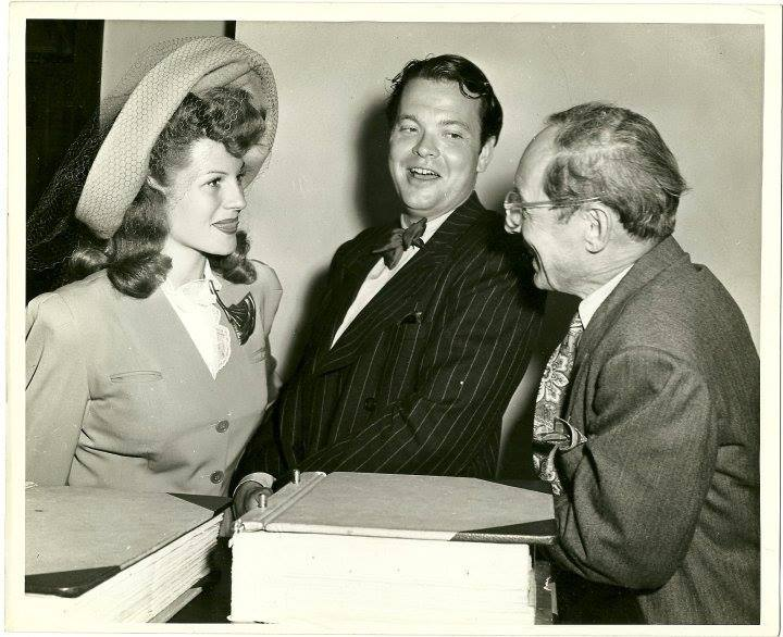Orson Welles married Rita Hayworth today in 1943. The pair would divorce 1948.
