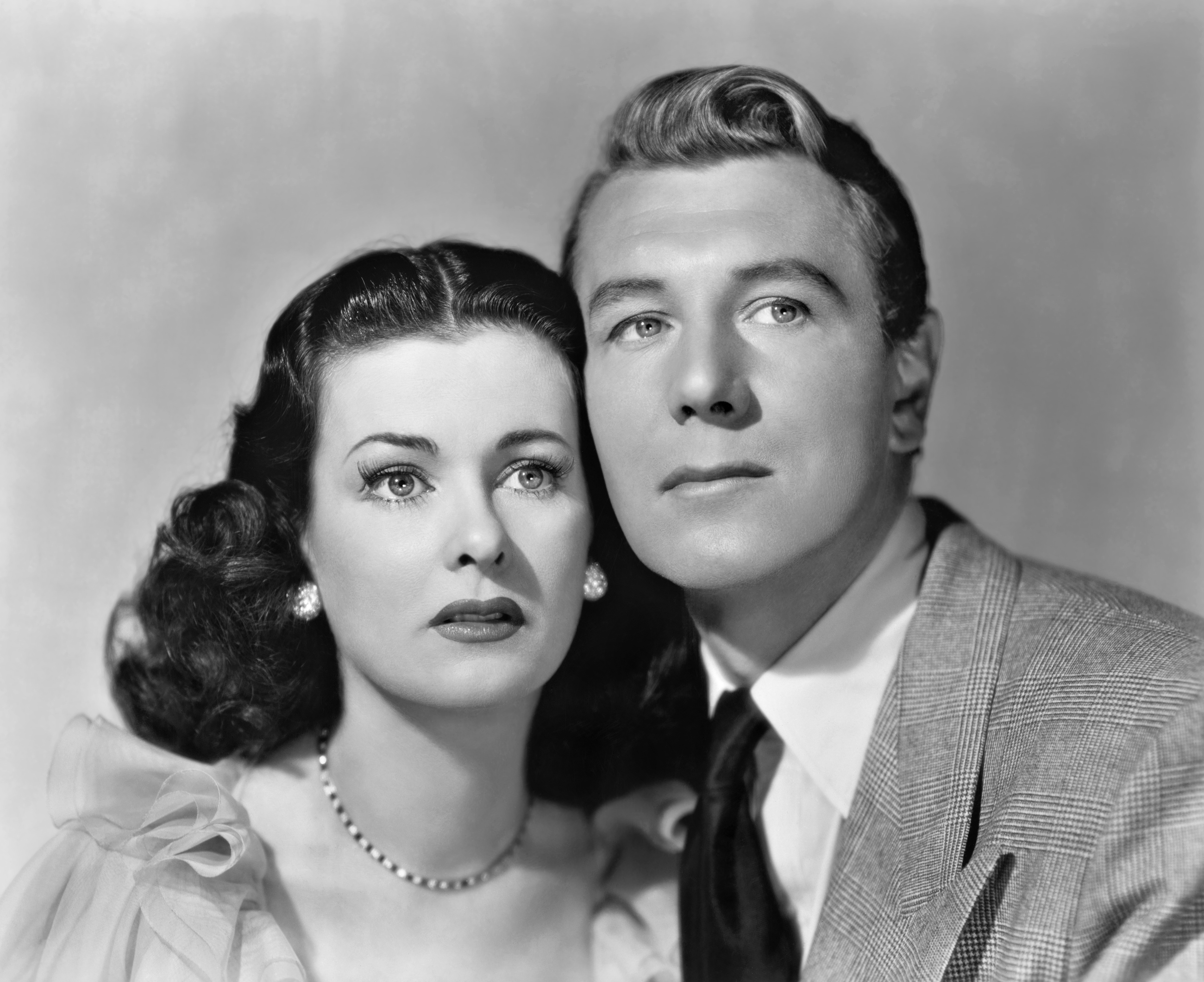 Michael Redgrave With Joan Bennet.