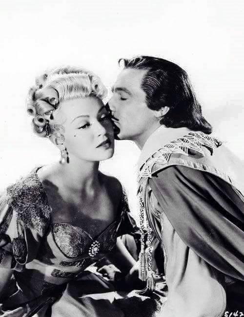 Lana Turner & Gene Kelly -The Three Musketeers(1948).