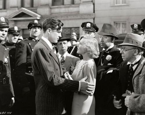 """Ray Milland and Jean Arthur in """"Easy Living"""" (1937)"""
