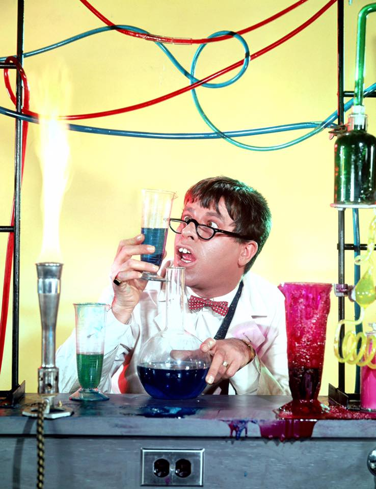 Jerry Lewis in The Nutty Professor, 1963