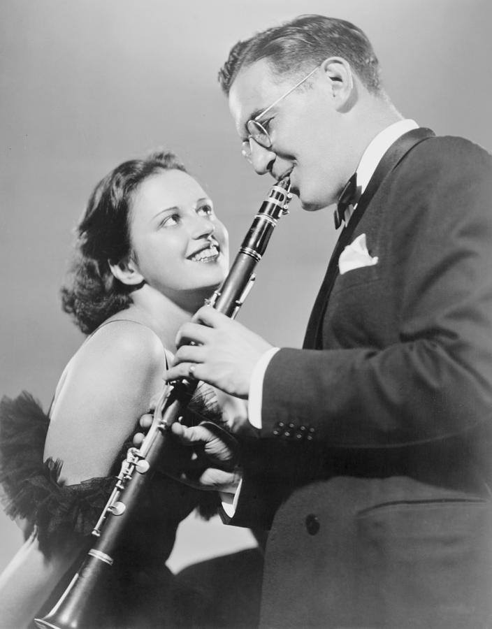 Helen Ward (singer)! Here she is with Benny Goodman.