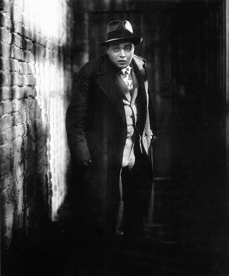 Peter Lorre..Peter Lorre as serial child killer Hans Beckert in M (Fritz Lang, 1931), the film that brought Lorre to international attention