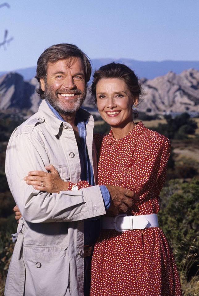 Robert Wagner & Audrey Hepburn