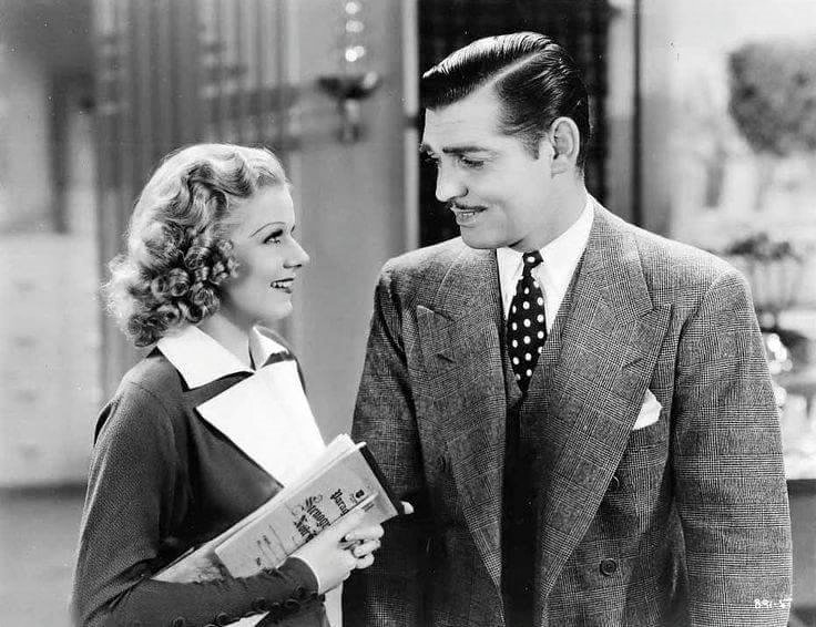 Jean Harlow & Clark Gable -Wife vs Secretery(1936).