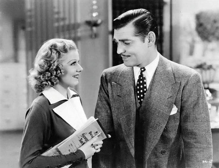 Jean Harlow & Clark Gable -Wife vs Secretery(1936).