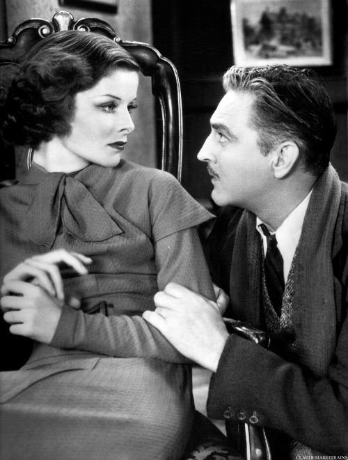 Katharine Hepburn & John Barrymore - Bill of Divorcement(1932).