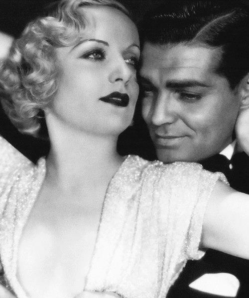 Carole Lombard & Clark Gable -No Man of Her Own(1932).