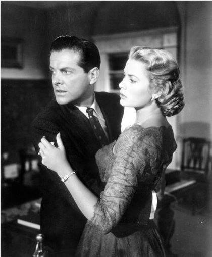 Grace Kelly and Robert Cummings