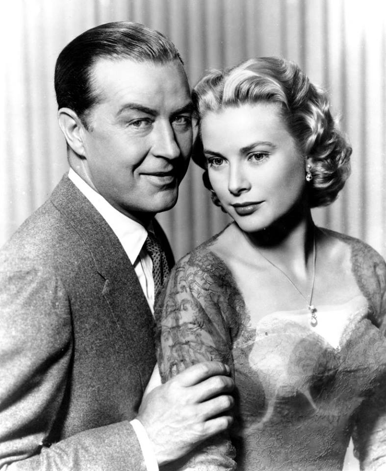 Grace Kelly and Ray Milland Publicity still for