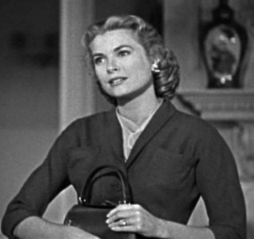 Grace Kelly, as MARGOT MARY WENDICE, in the movie