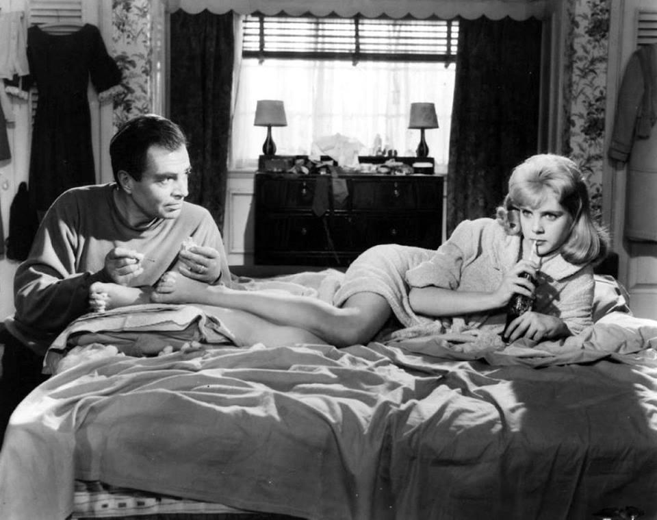 James Mason e Sue Lyon