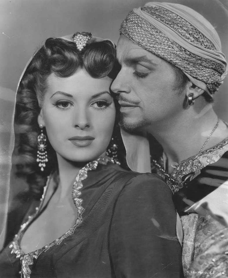 Maureen O'Hara e Douglas Fairbanks Jr.