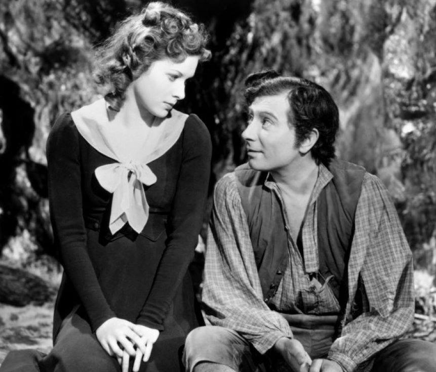 Robert Newton e Maureen O'Hara
