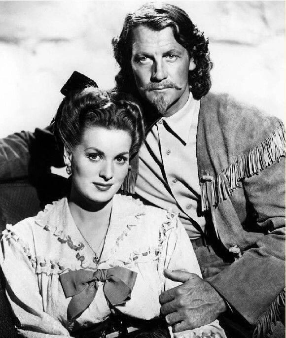 Joel McCrea e Maureen O'Hara Foto promozionale per il film