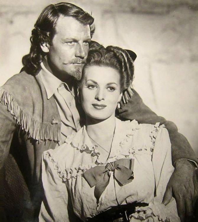 Joel McCrea e Maureen O'Hara