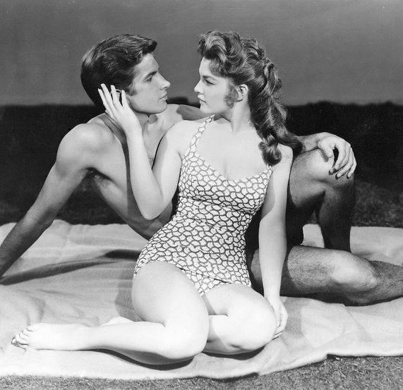 George Hamilton & Luana Patten