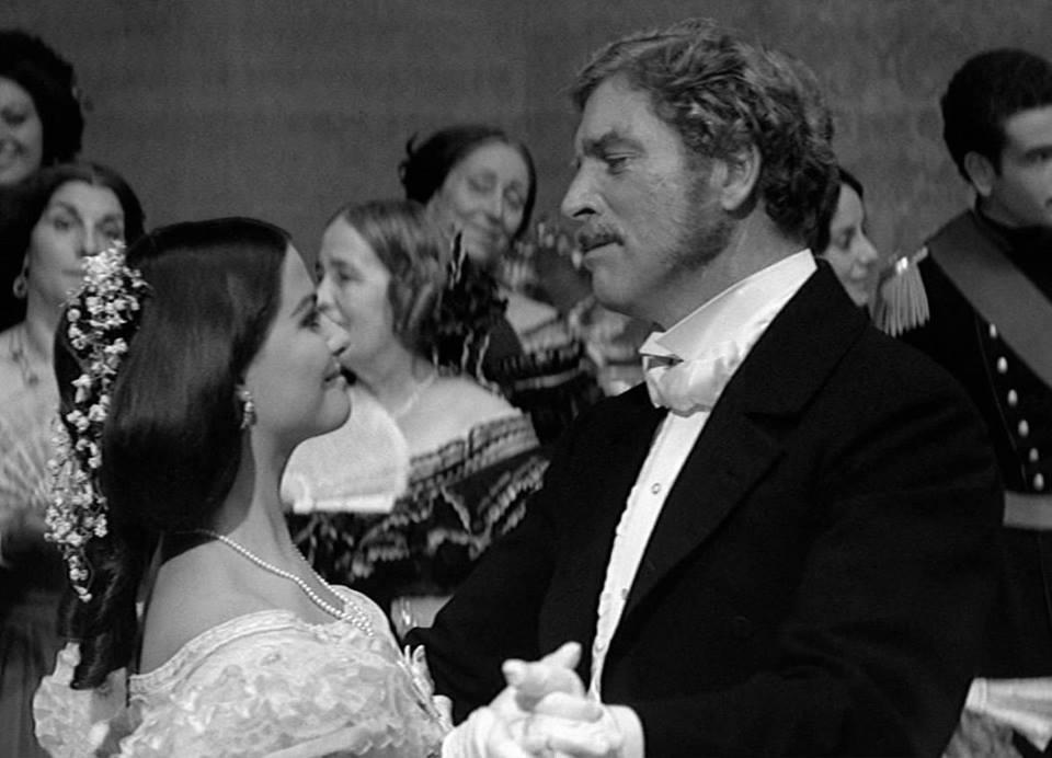 Burt Lancaster e Claudia Cardinale