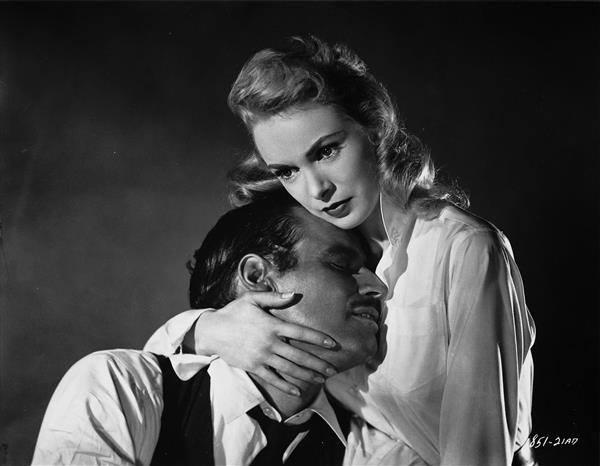 Charlton Heston e Janet Leigh