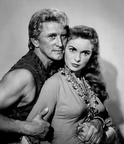 Kirk Douglas e Janet Leigh