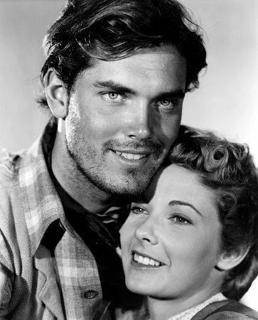Jeffrey Hunter e Vera Miles