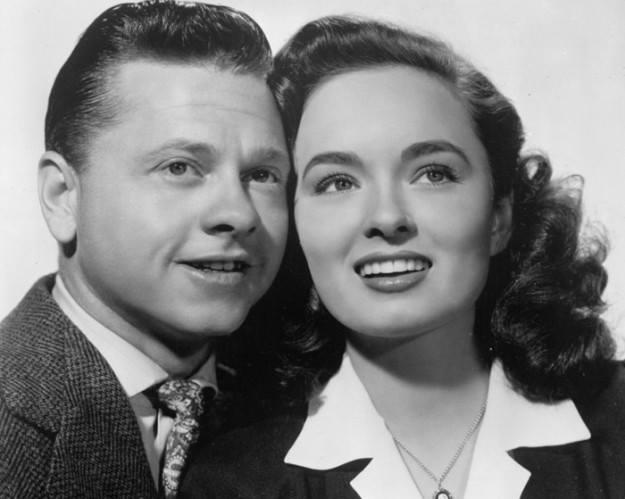 Mickey Rooney e Ann Blyth