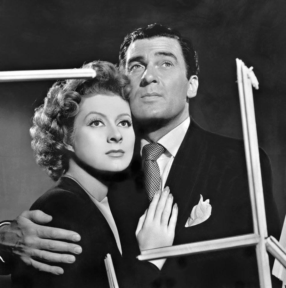 Walter Pidgeon e Greer Garson