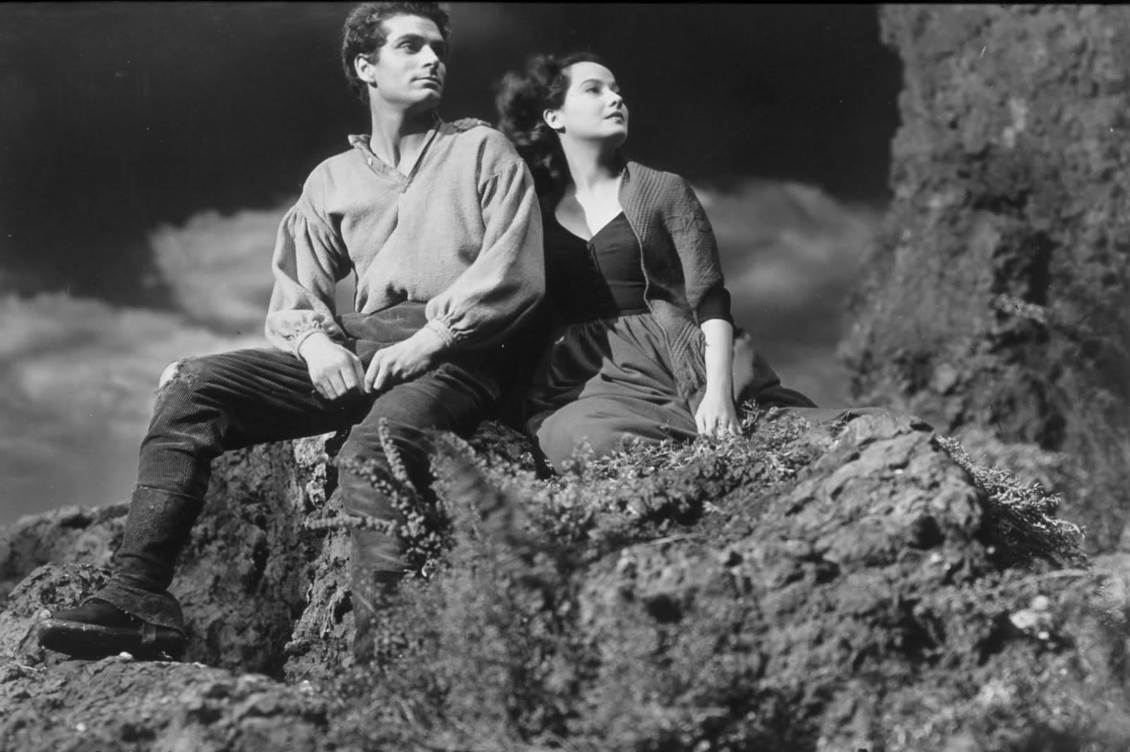 Laurence Olivier e Merle Oberon