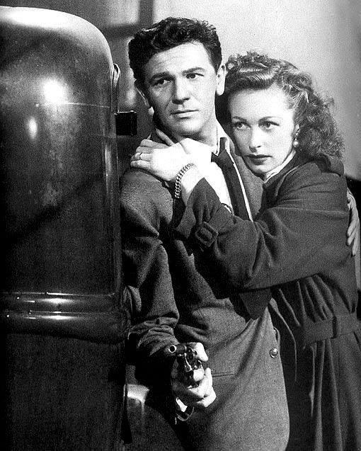 John Garfield and Geraldine Fitzgerald