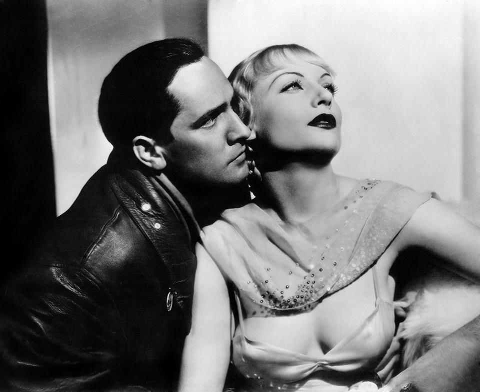 Fredrich March e Carole Lombard