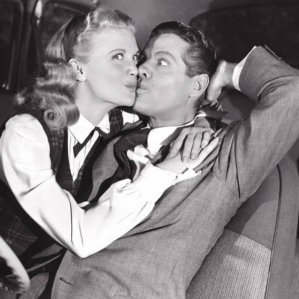 Robert Cummings & Betty Caulfield