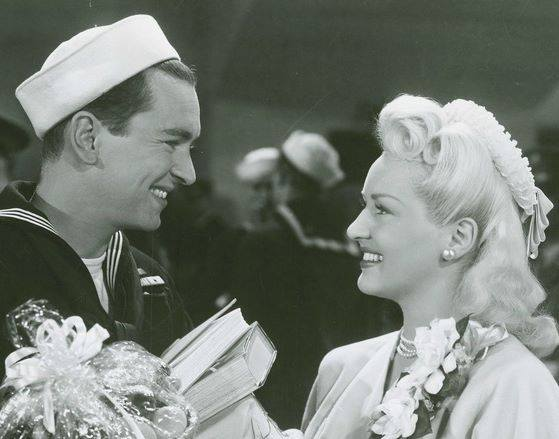 John Harvey & Betty Grable