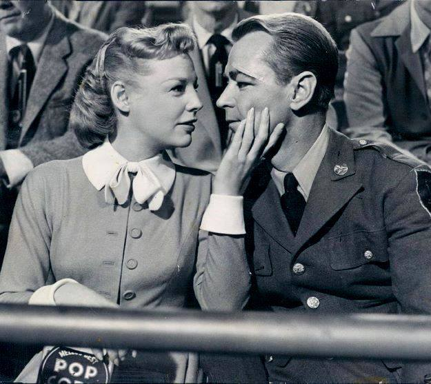 ALAN LADD & JUNE ALLYSON