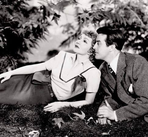 RAY MILLAND & CLAUDETTE COLBERT