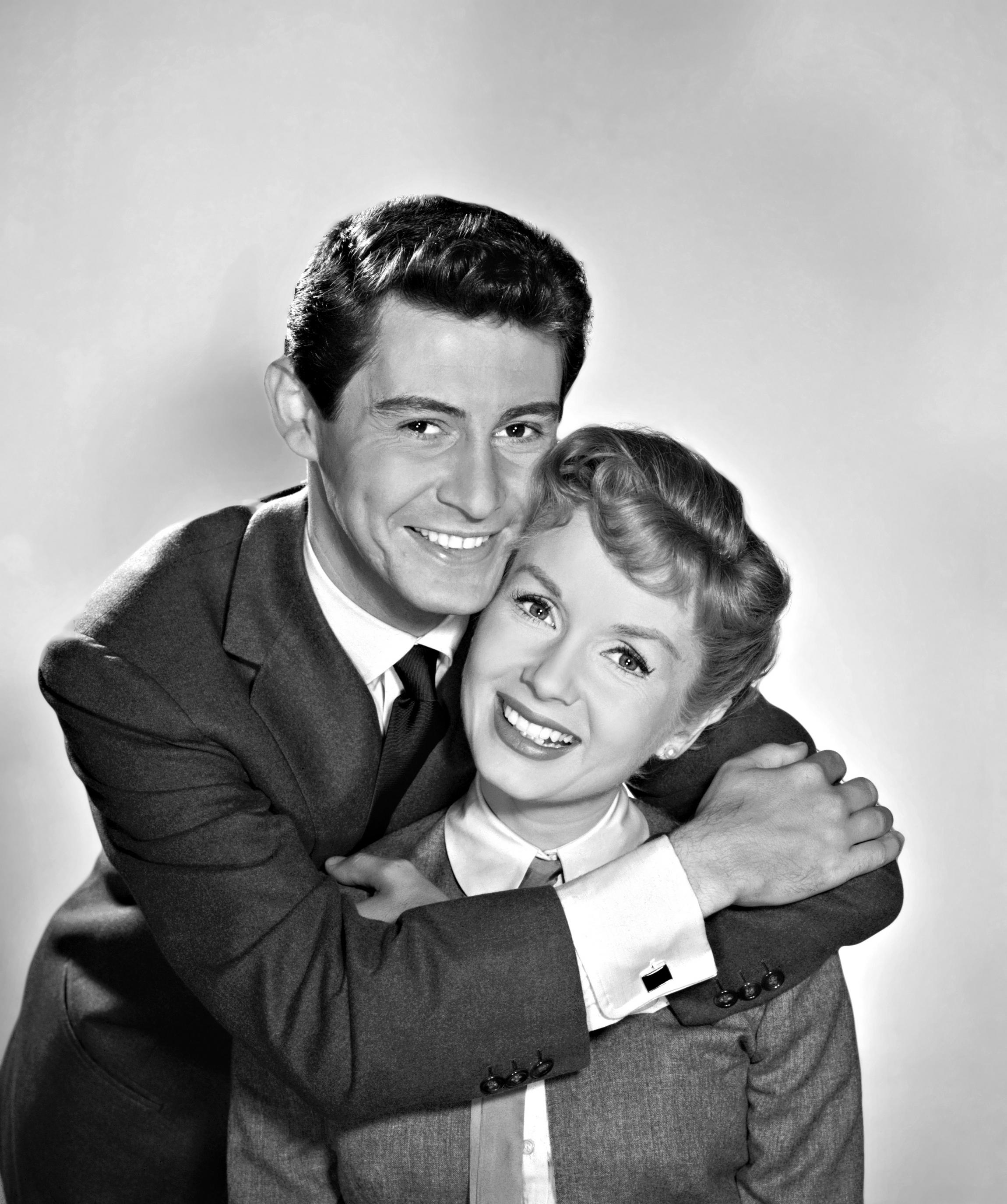 Debbie Reynolds With Eddie Fisher