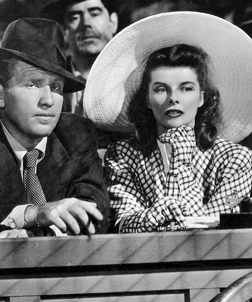 Spencer Tracy & Katharine Hepburn -A Woman of Year(1942) ❤.