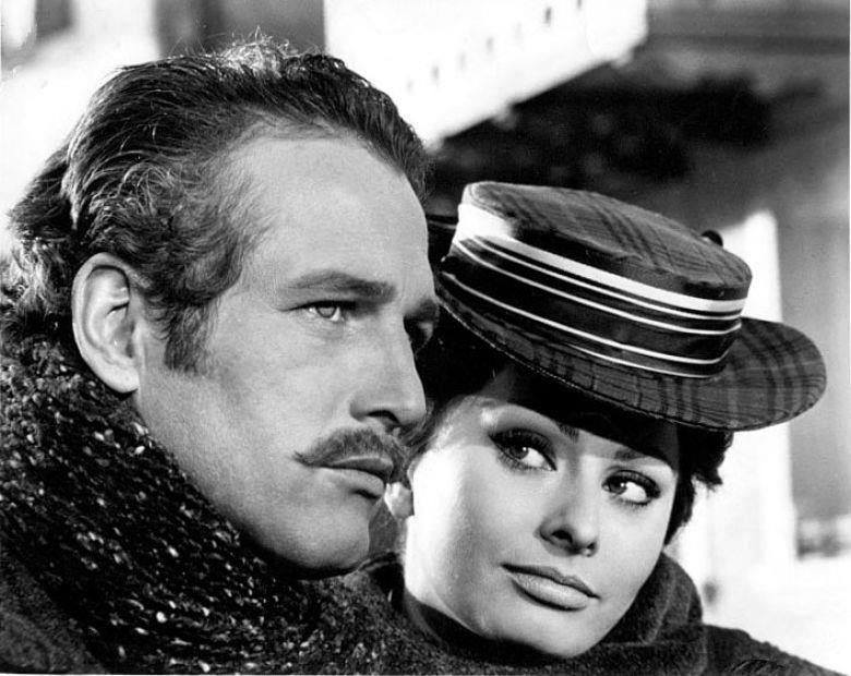 Paul Newman e Sophia Loren