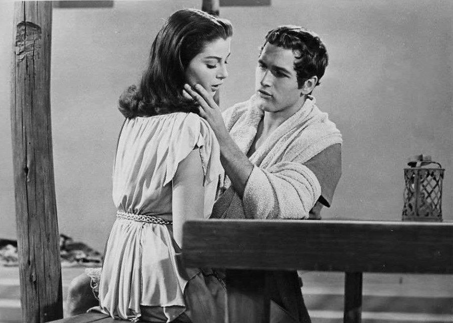 Paul Newman e Anna Maria Pierangeli