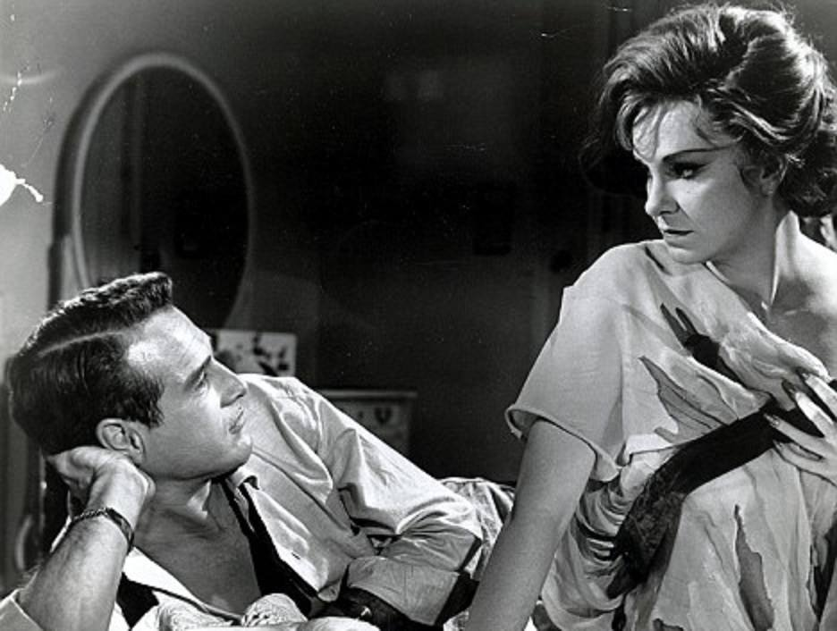 Paul Newman e Geraldine Page