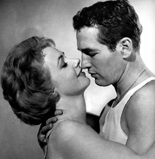 Paul Newman and Piper Laurie