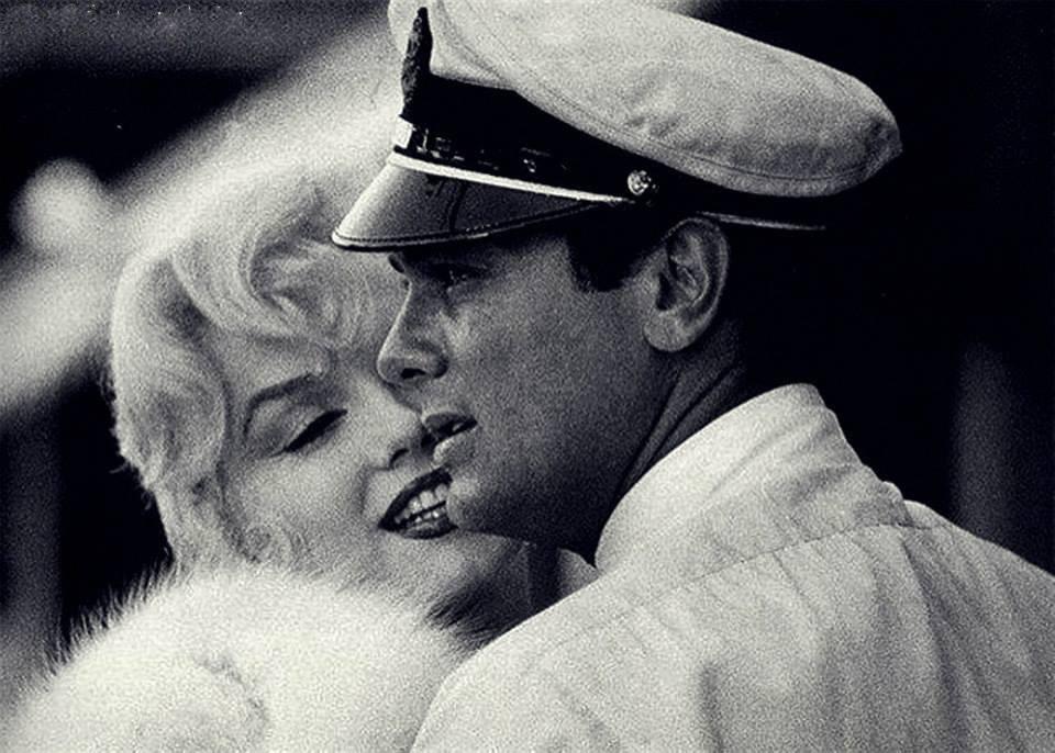 Tony Curtis e Marilyn Monroe