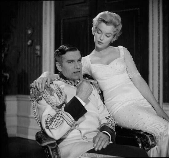 Laurence Olivier e Marilyn Monroe