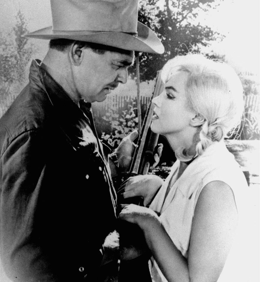 Clark Gable and Marilyn Monroe