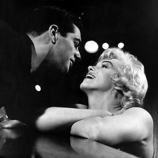 Frankie Vaughan & Marilyn Monroe