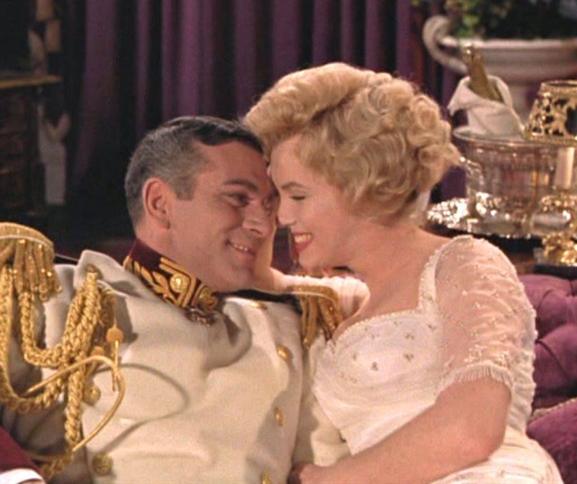 Laurence Olivier & Marilyn Monroe